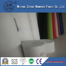 White Polypropylene Spun-Bond Nonwoven Fabric of Handbags (zhikun China hotsales)
